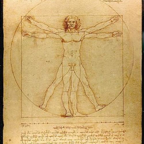 Da Vinci's Vitruvian Man.