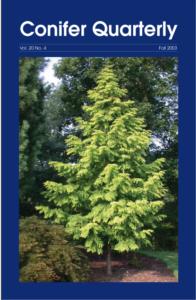 Conifer Quarterly Fall 2003