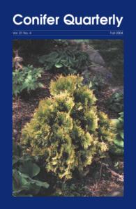 Conifer Quarterly Fall 2004