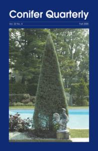 Conifer Quarterly Fall 2005