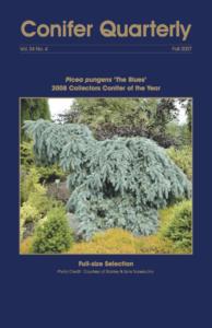 Conifer Quarterly Fall 2007