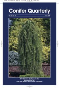 Conifer Quarterly Fall 2009