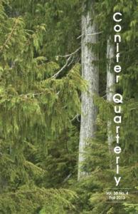 Conifer Quarterly Fall 2013