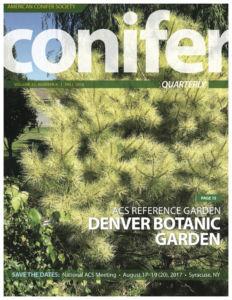 Conifer Quarterly Fall 2016
