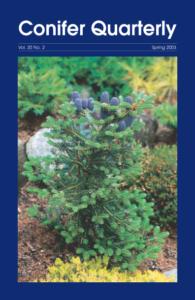 Conifer Quarterly Spring 2003