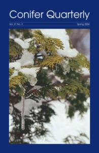 Conifer Quarterly Spring 2004