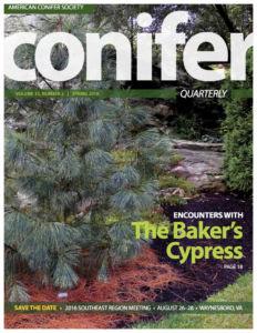 Conifer Quarterly Spring 2016