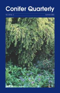 Conifer Quarterly Summer 2003