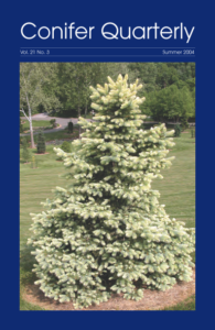 Conifer Quarterly Summer 2004