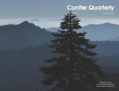 Conifer Quarterly Summer 2012