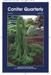 Conifer Quarterly Winter 2010