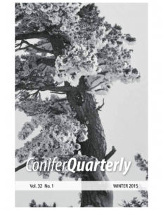 Conifer Quarterly Winter 2015