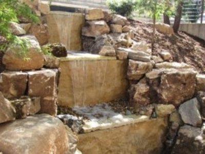 Waterfall in the Dancers Garden
