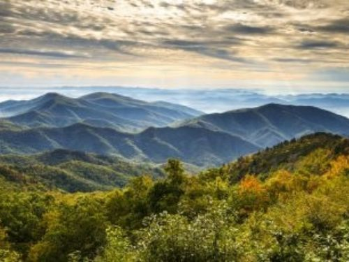 Asheville, NC environs, photo by Shutterstock