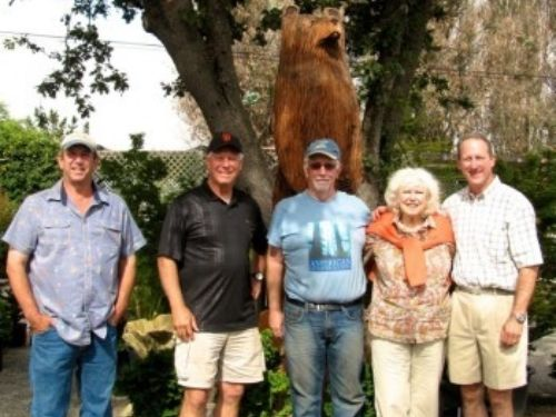 ACS members at Pond and Garden Nursery in Cotati CA
