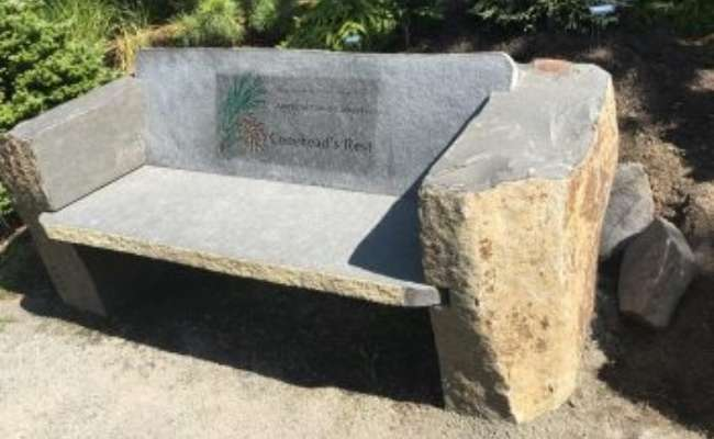 Coneheads Get 'Benched' at The Oregon Garden
