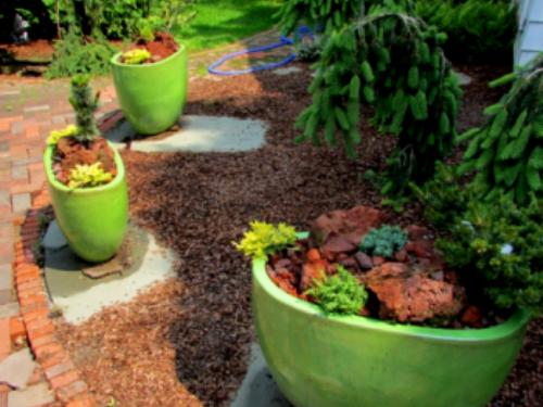 Vitrified and Glazed Terra Cotta Pots